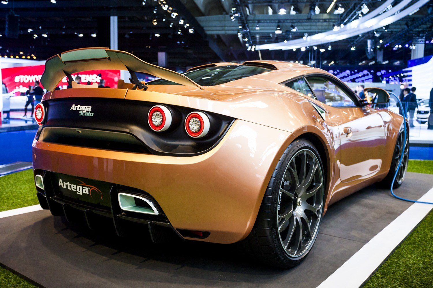 Latest Iaa 2015 Artega Scalo Free Download