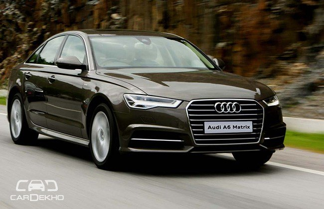 Latest Audi A6 Matrix 2 Tdi First Drive Cardekho Com Free Download