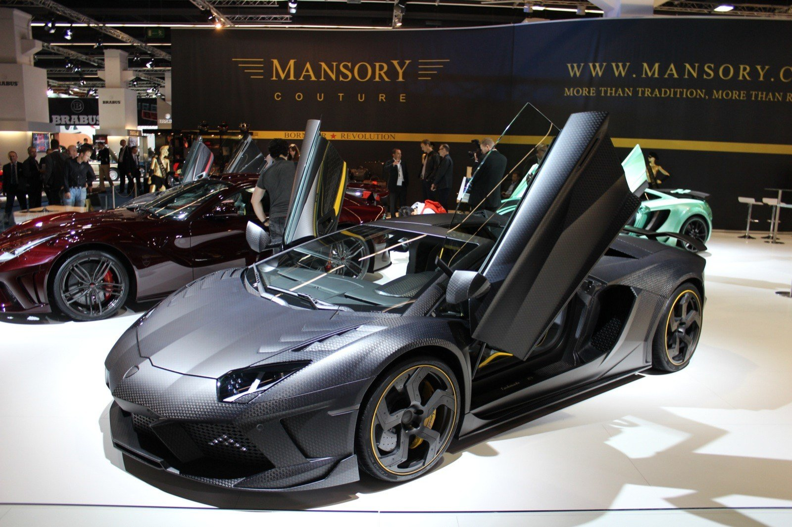 Latest Mansory Turns To Stealth With Aventador Based Carbonado Free Download