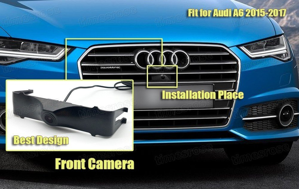 Latest 170° Full Hd Ccd Car Grill Front View Camera Embedded For Free Download