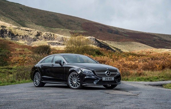 Latest Wallpaper Photo Black Tuning Mercedes Benz Cls 350 Free Download