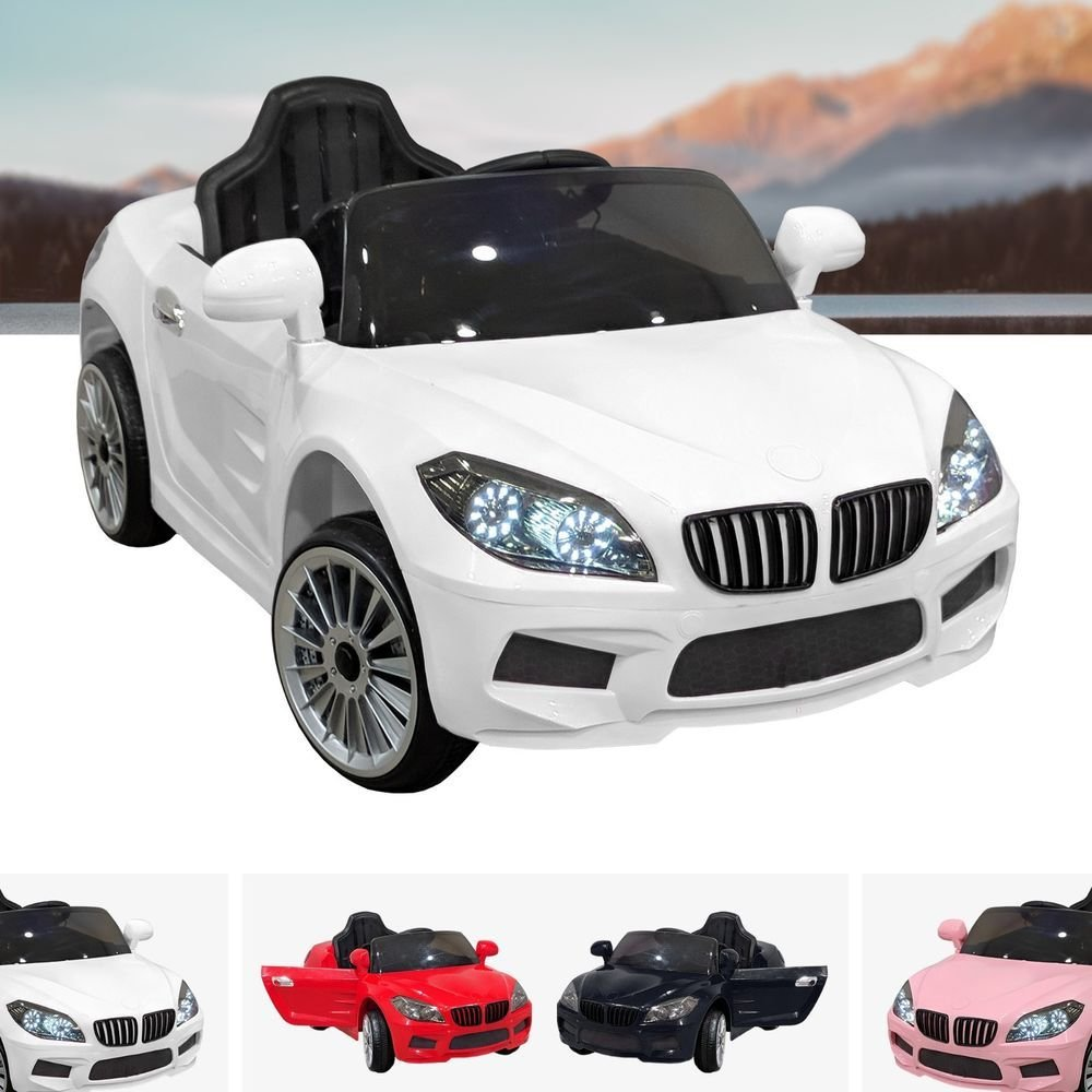 Latest Bmw Style Kids Ride On Car 12V Battery Electric Sports Car Free Download