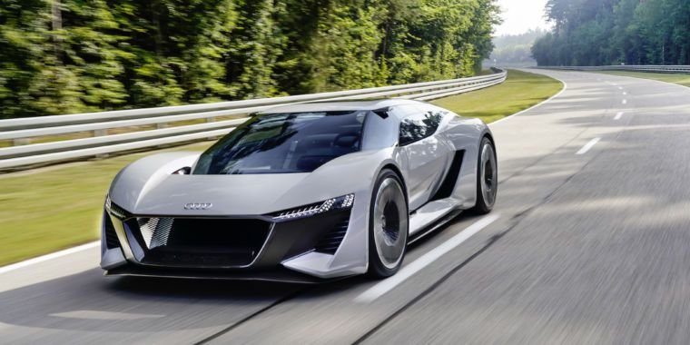 Latest Audi's New Electric Sports Car Concept The Pb18 E Tron Free Download