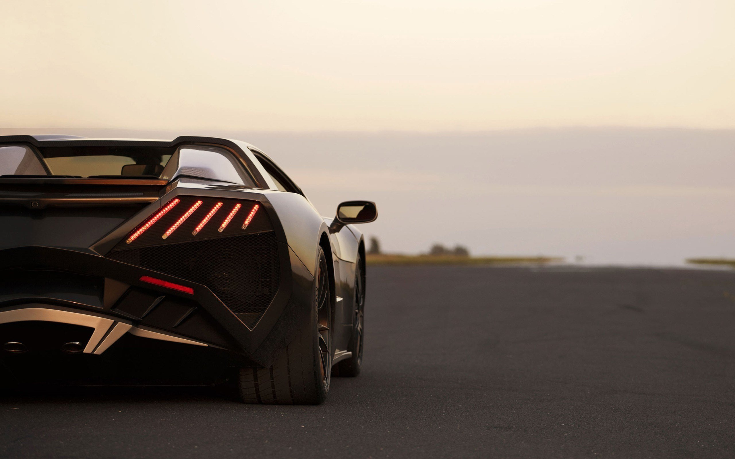 Latest Cars Polish Arrinera Rear View Taillights Wallpaper Free Download