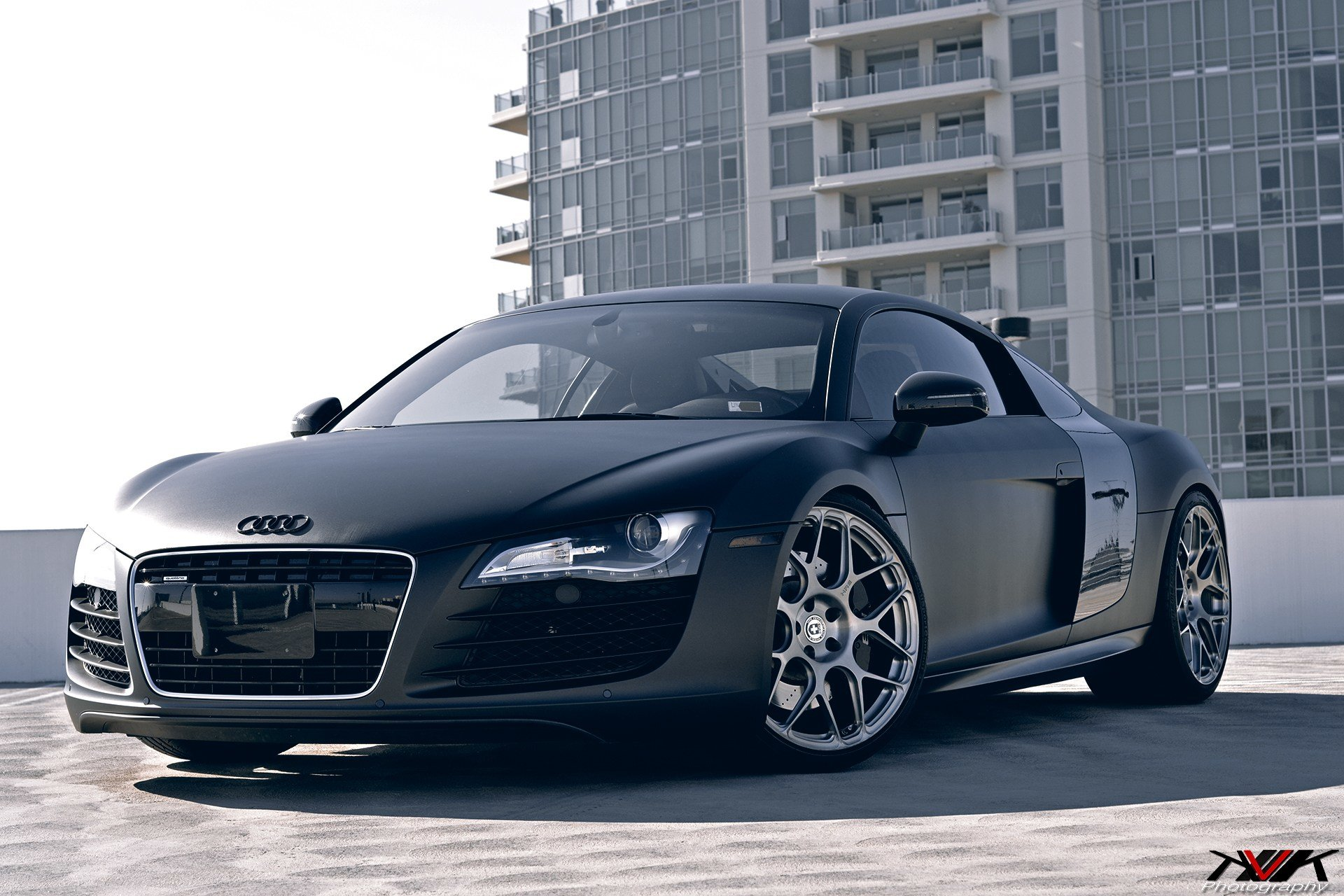 Latest Matte Black Audi R8 On Hre P40Sc S By Kvk Photography Free Download