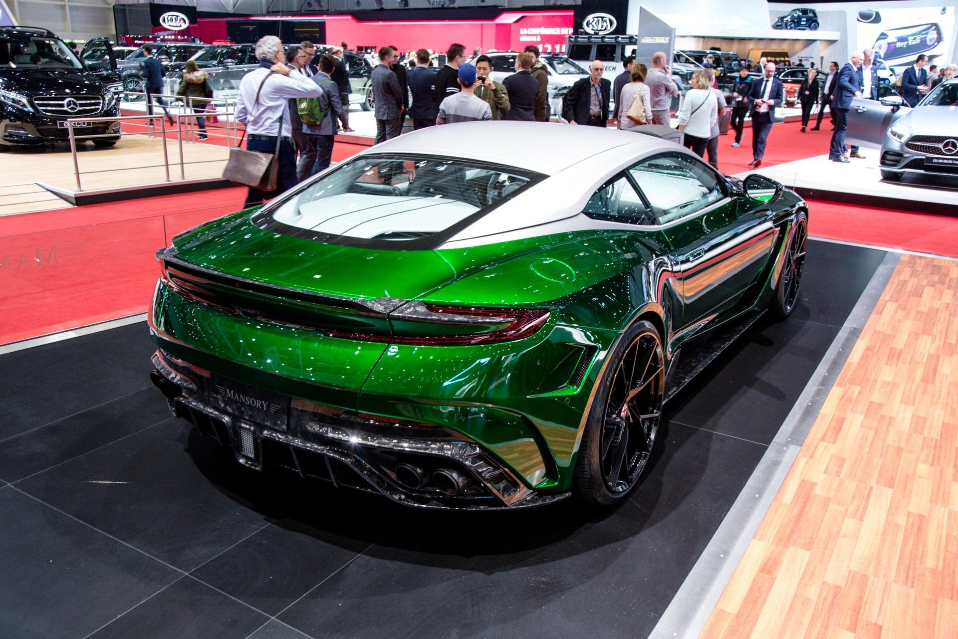 Latest Mansory At The Geneva Motor Show 2018 Gtspirit Free Download