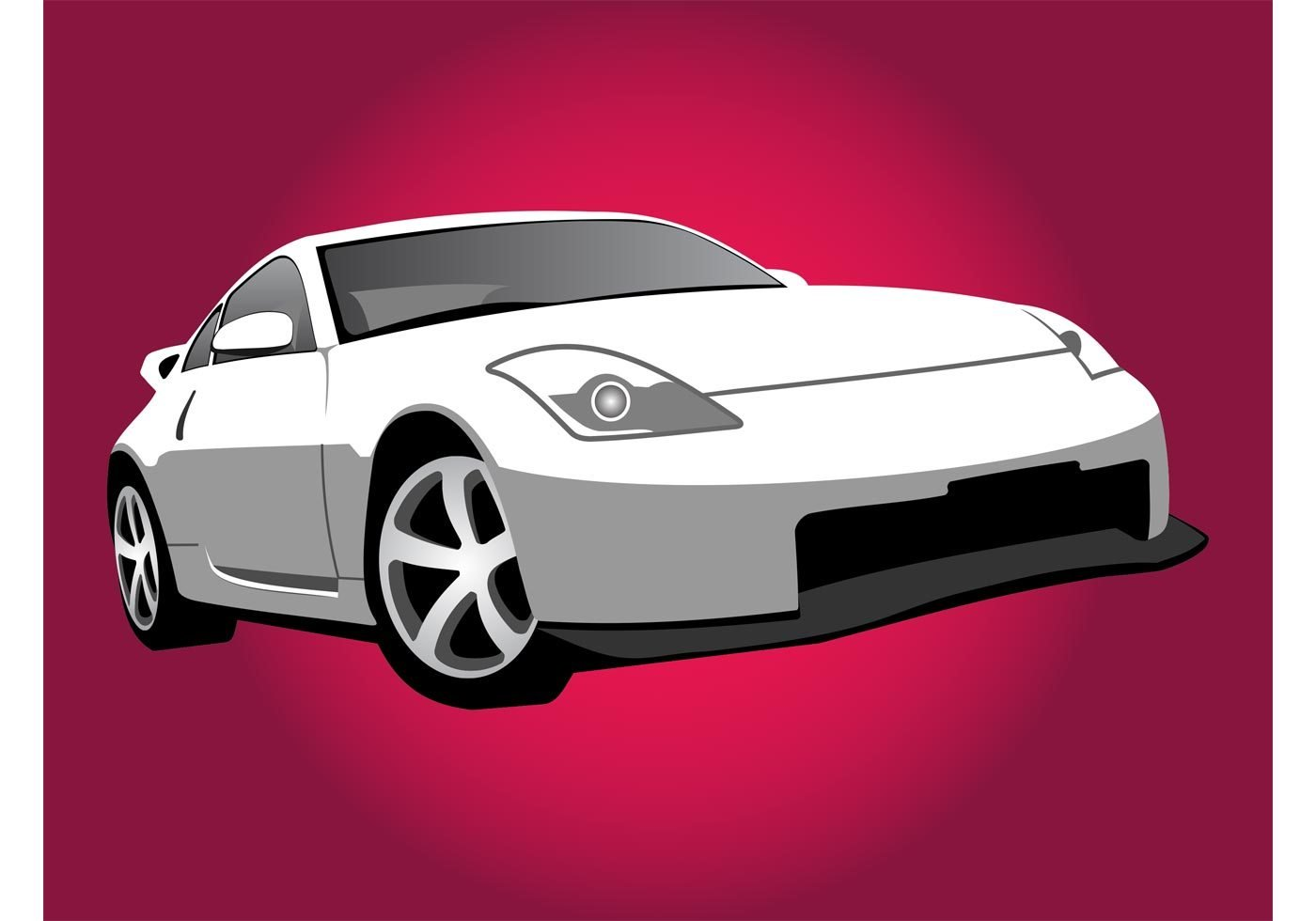 Latest Nissan Car Illustration Download Free Vector Art Stock Free Download