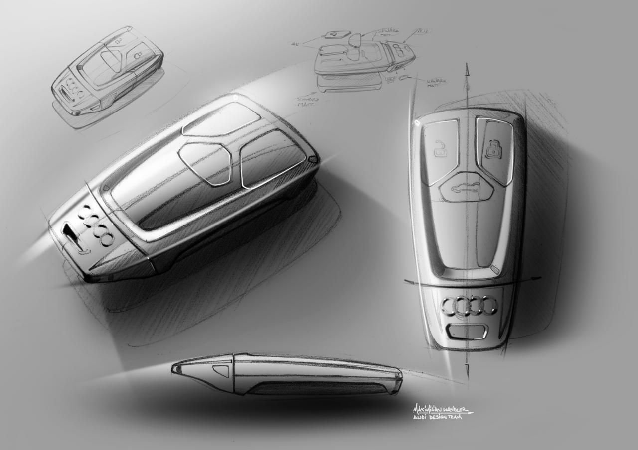 Latest Industrial Design Sketching 2015 Audi Tt Sketches Free Download