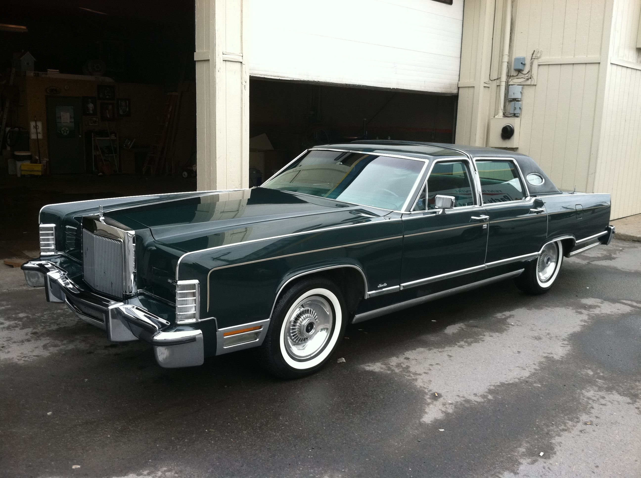 Latest 1978 Lincoln Town Car Bought It From Canzanellas In Eh Free Download