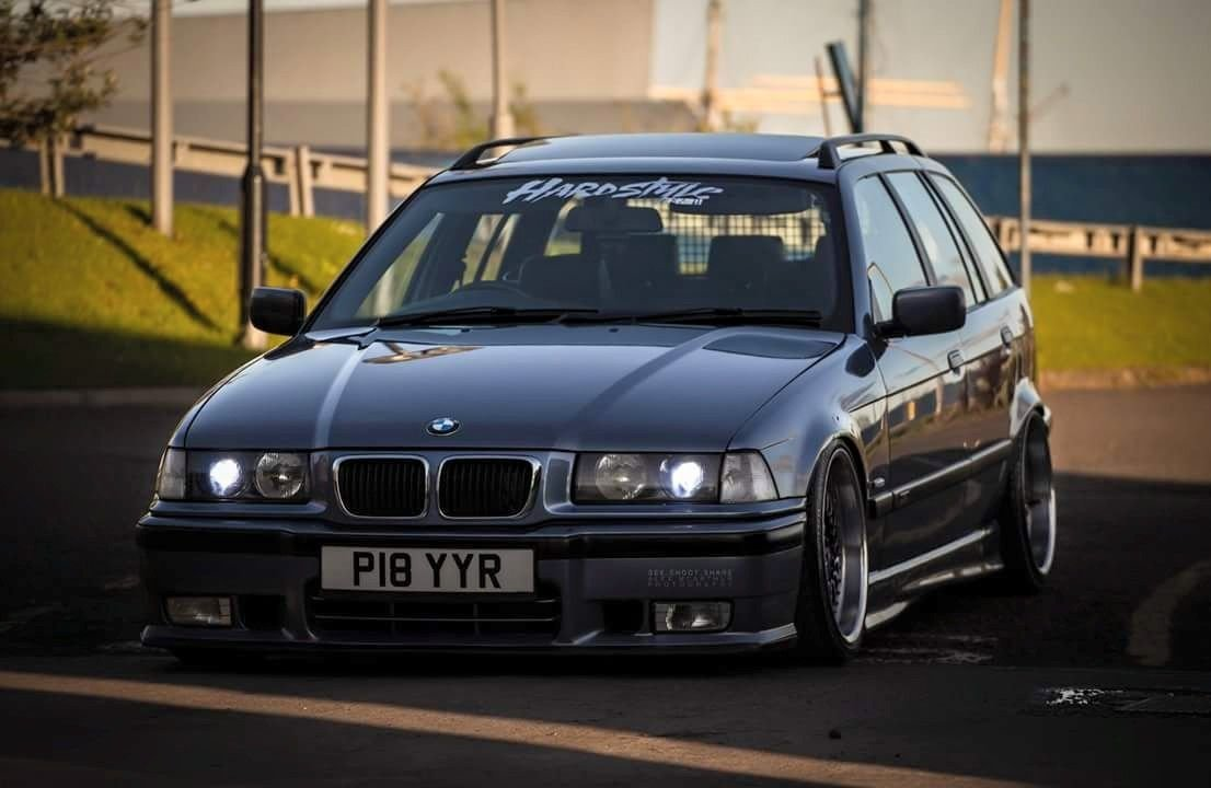 Latest Steel Blue Metallic Bmw E36 Touring On Oem Bmw Styling 5 Free Download