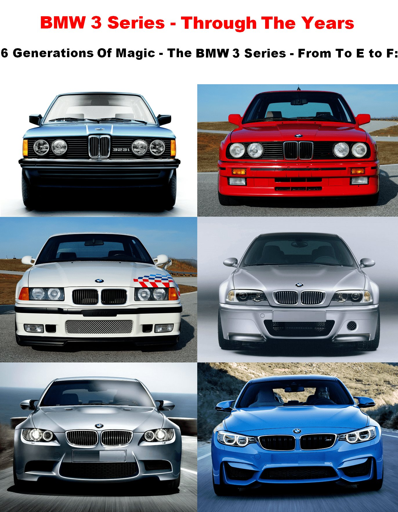 Latest Experience The Bmw 3 Series Through The Years 6 Free Download