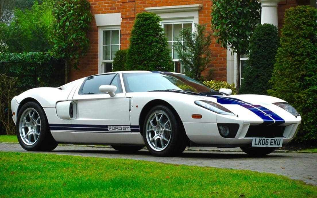 Latest Jenson Button S 205Mph Ford Gt Expected To Sell For £250 000 Free Download