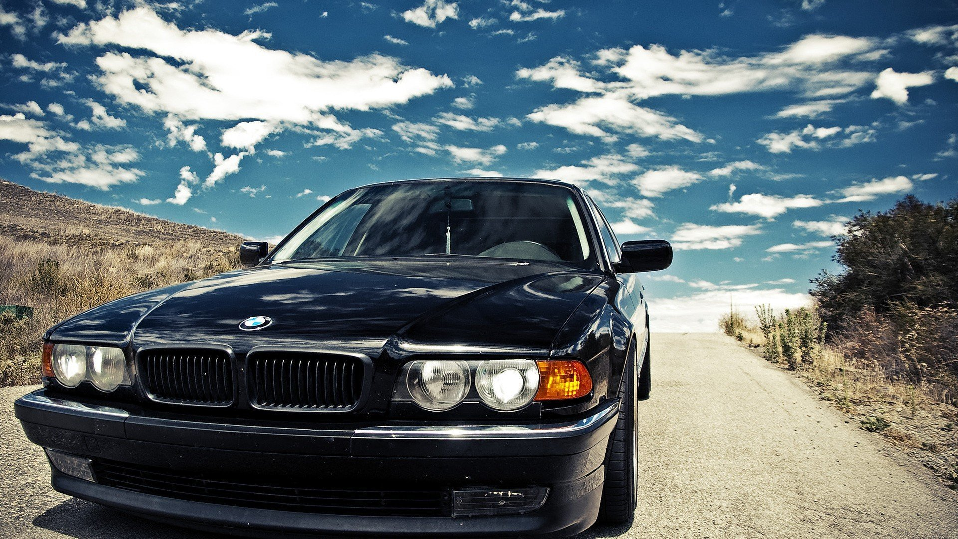 Latest Bmw Black Cars Bmw E38 Wallpaper 1920X1080 253971 Free Download