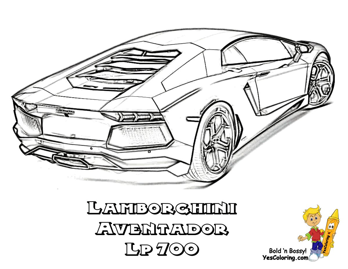 Latest Exclusive Lamborghini Coloring Pages Cars Free Free Download