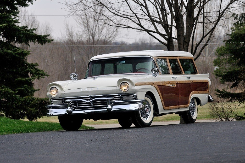 Latest 1957 Ford Fairlane Country Squire Free Download