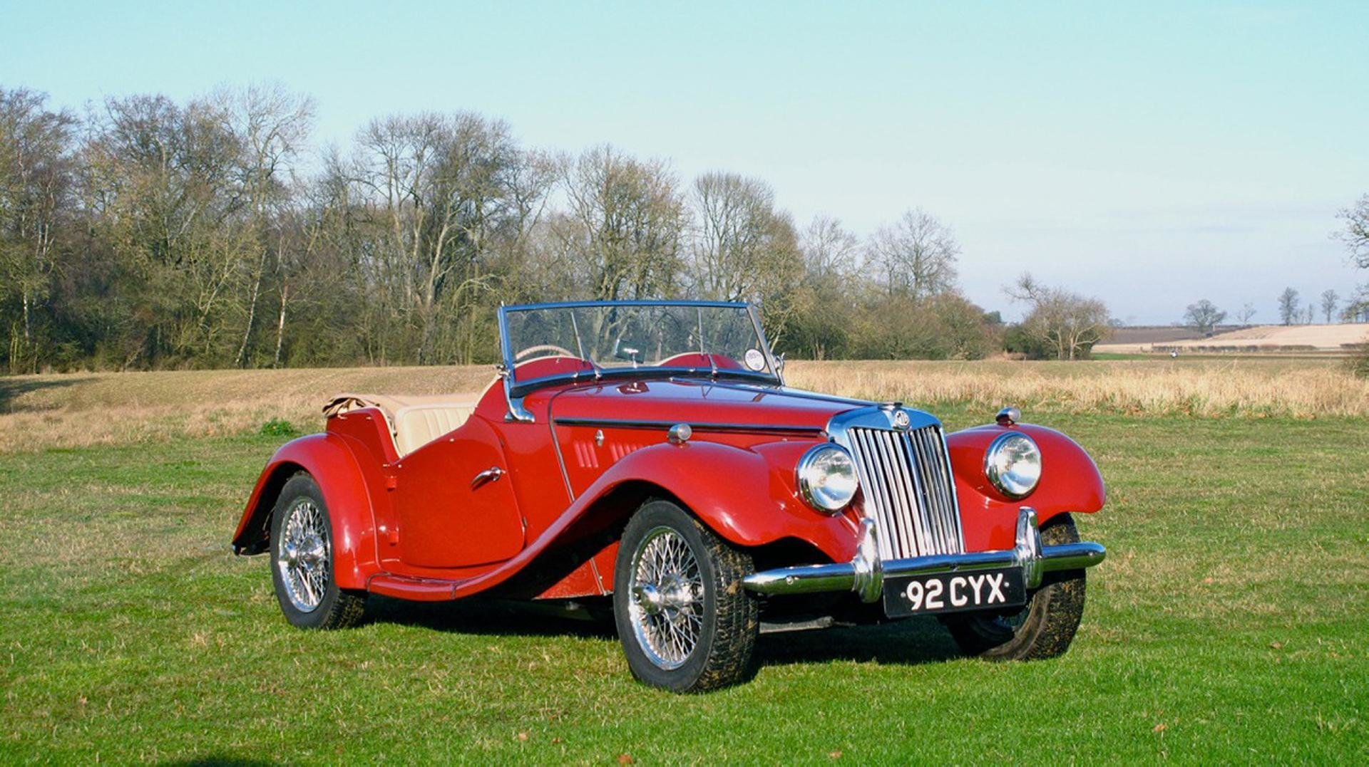 Latest 1954 Mg Tf Desktop Wallpaper And High Resolution Images Free Download