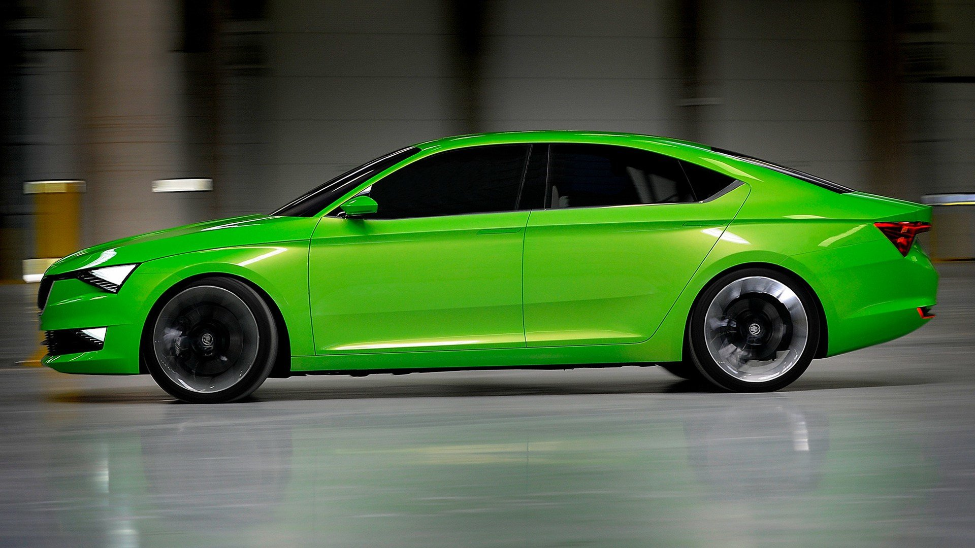 Latest 2014 Skoda Visionc Concept Wallpapers And Hd Images Free Download