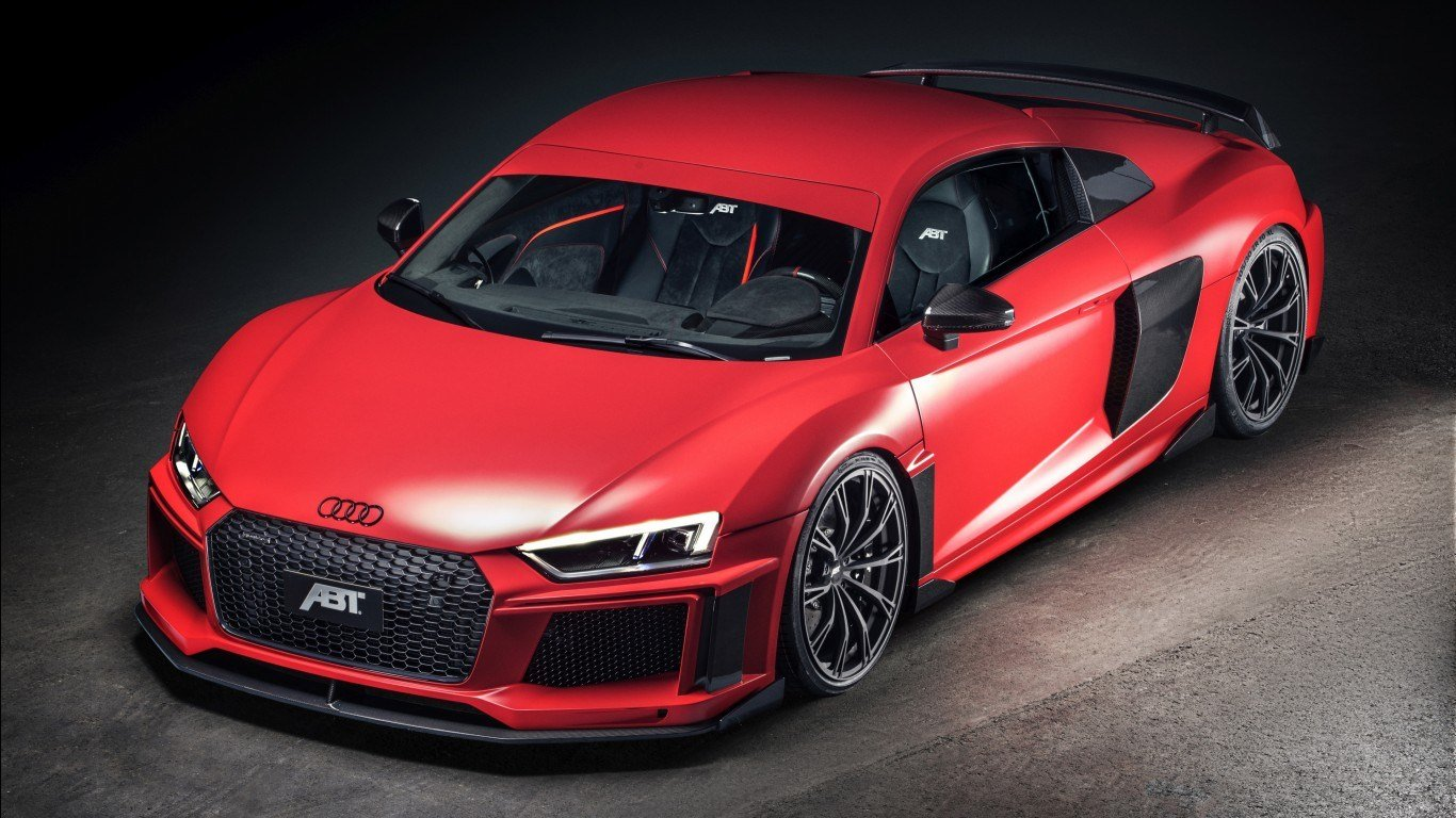 Latest 2017 Abt Audi R8 4K Wallpapers Hd Wallpapers Id 19939 Free Download