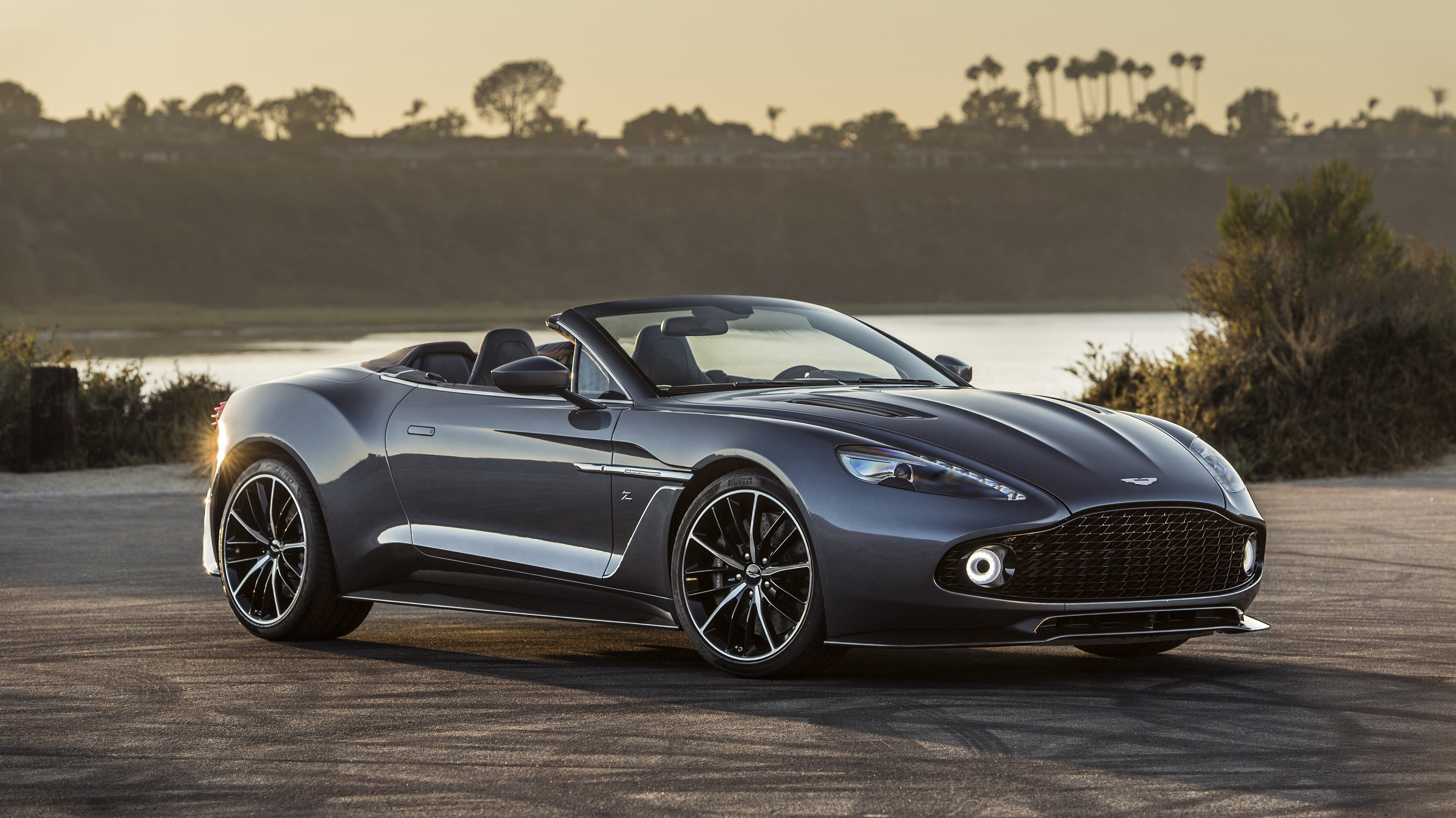 Latest Aston Martin Vanquish Zagato Volante 2017 4K Wallpapers Free Download