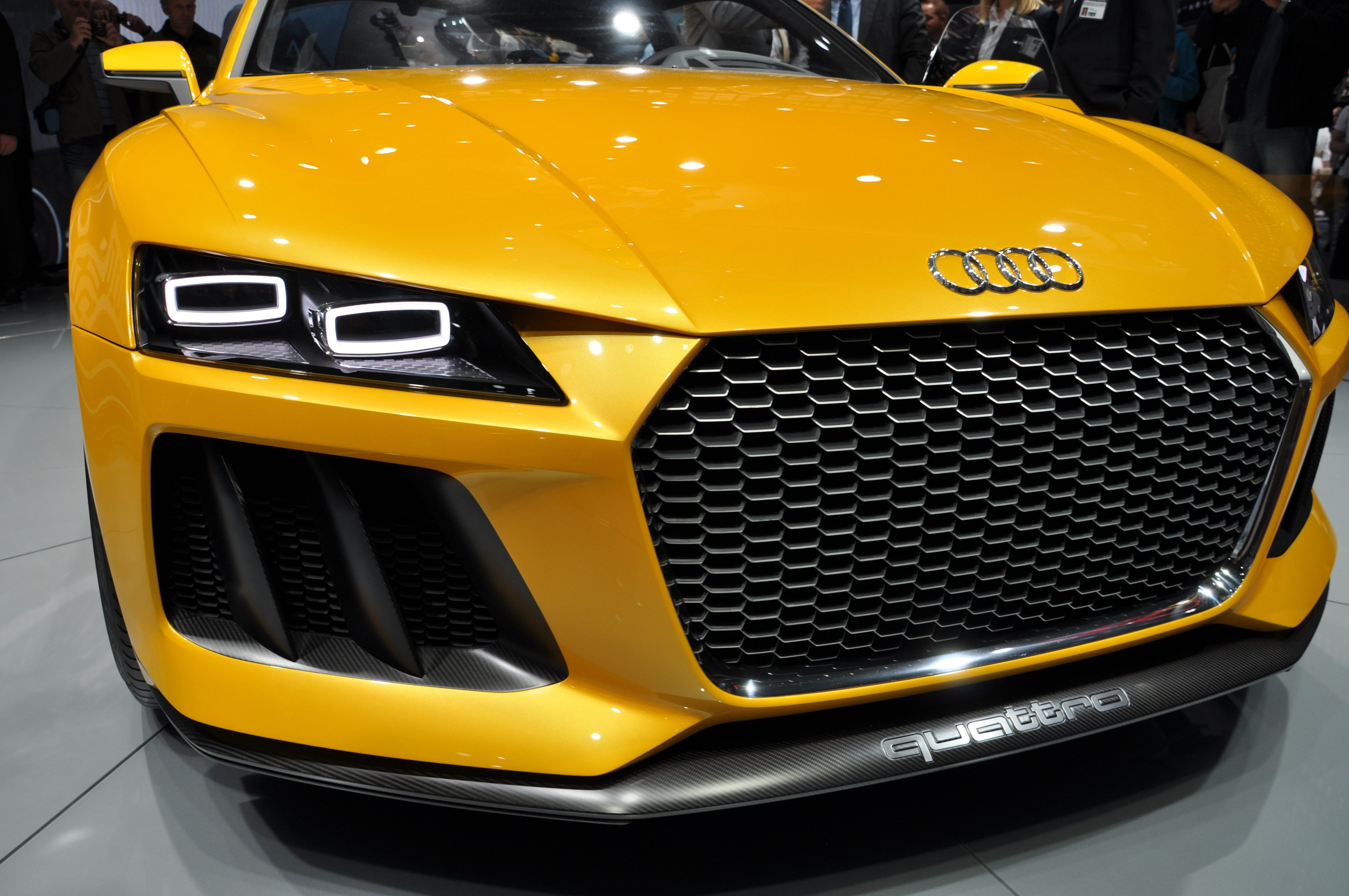 Latest Audi Car Yellow Cars Wallpapers Hd Desktop And Mobile Free Download