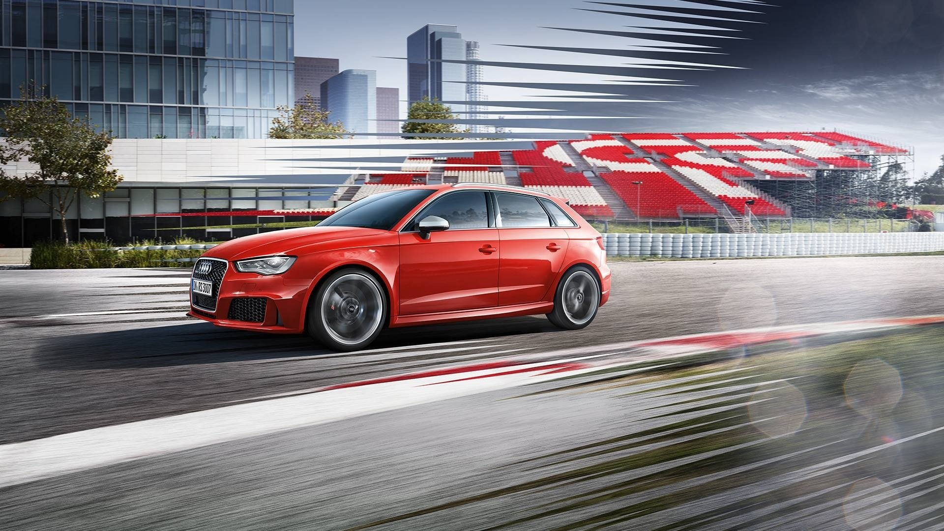 Latest Audi Audi Rs3 Car Red Cars Wallpapers Hd Desktop And Free Download