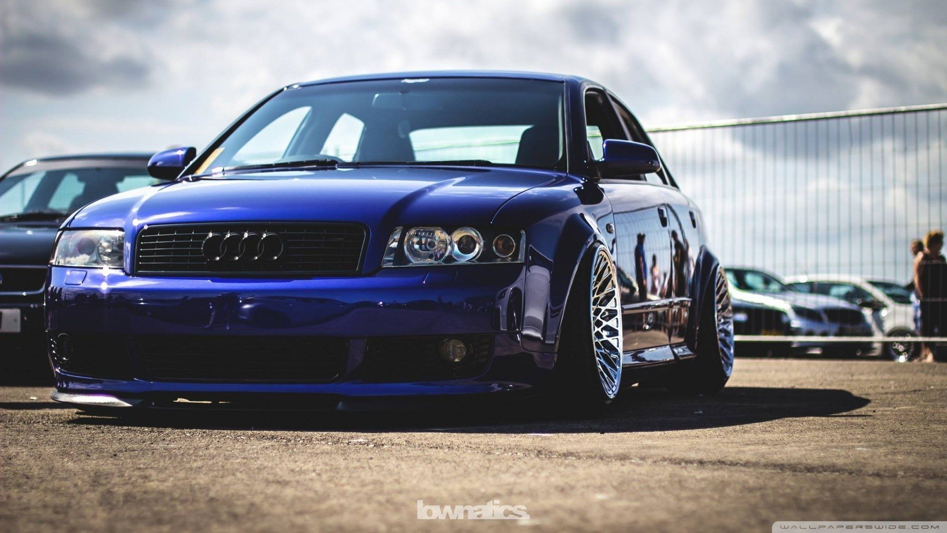 Latest Audi A4 Audi S4 Audi Stance Car Vehicle Blue Cars Free Download