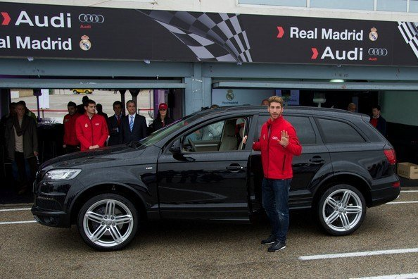 Latest Real Madrid Players Receive New Audi Cars In Madrid Zimbio Free Download