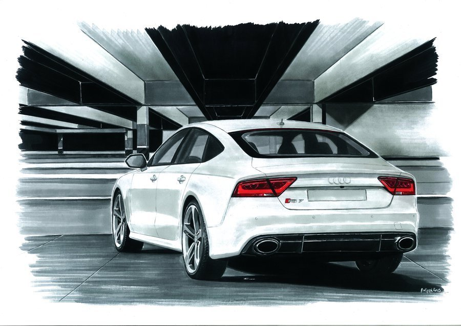 Latest Professional Car Drawings By Hand Free Download