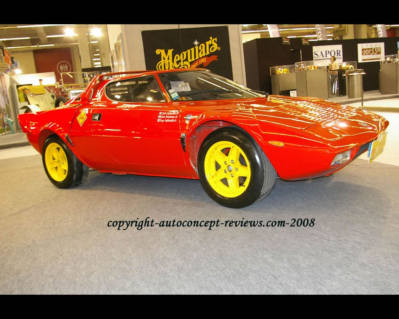 Latest Bertone Lancia Stratos 1970 Free Download
