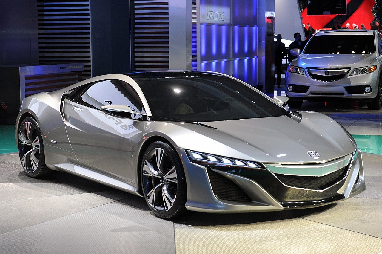 Latest Acura Nsx Concept Portends An Efficient Hybrid Supercar Free Download