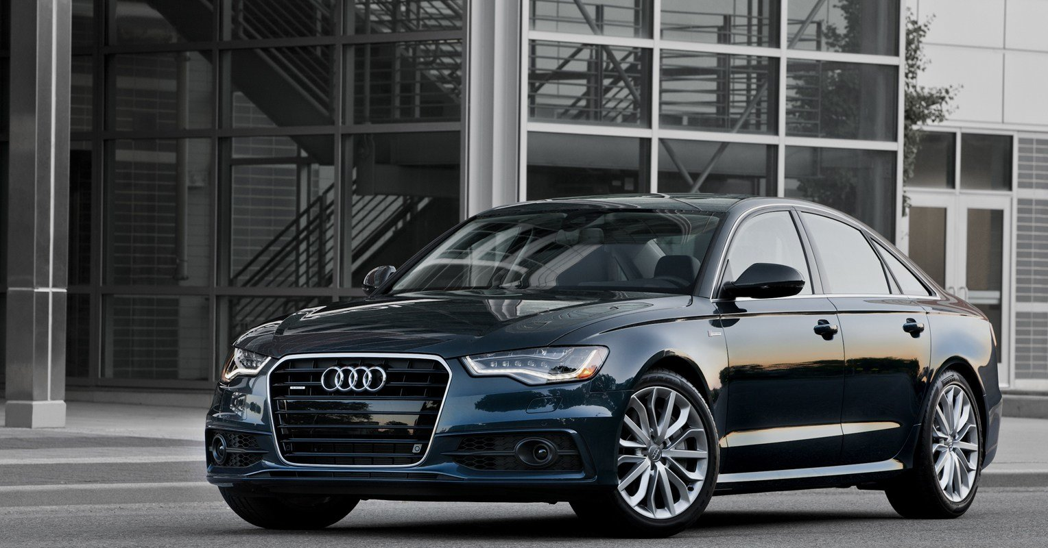 Latest Audi A6 Similar Look But Completely New Free Download