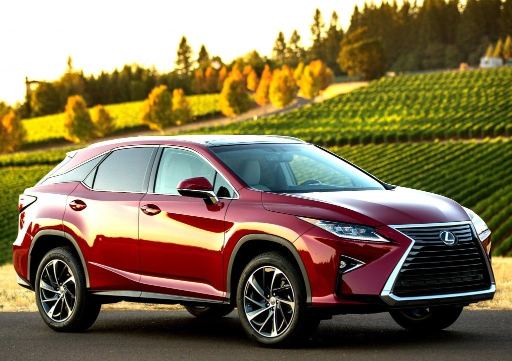 Latest Lexus Rx Luxury Crossover Gets A Makeover For 2016 Adding Free Download