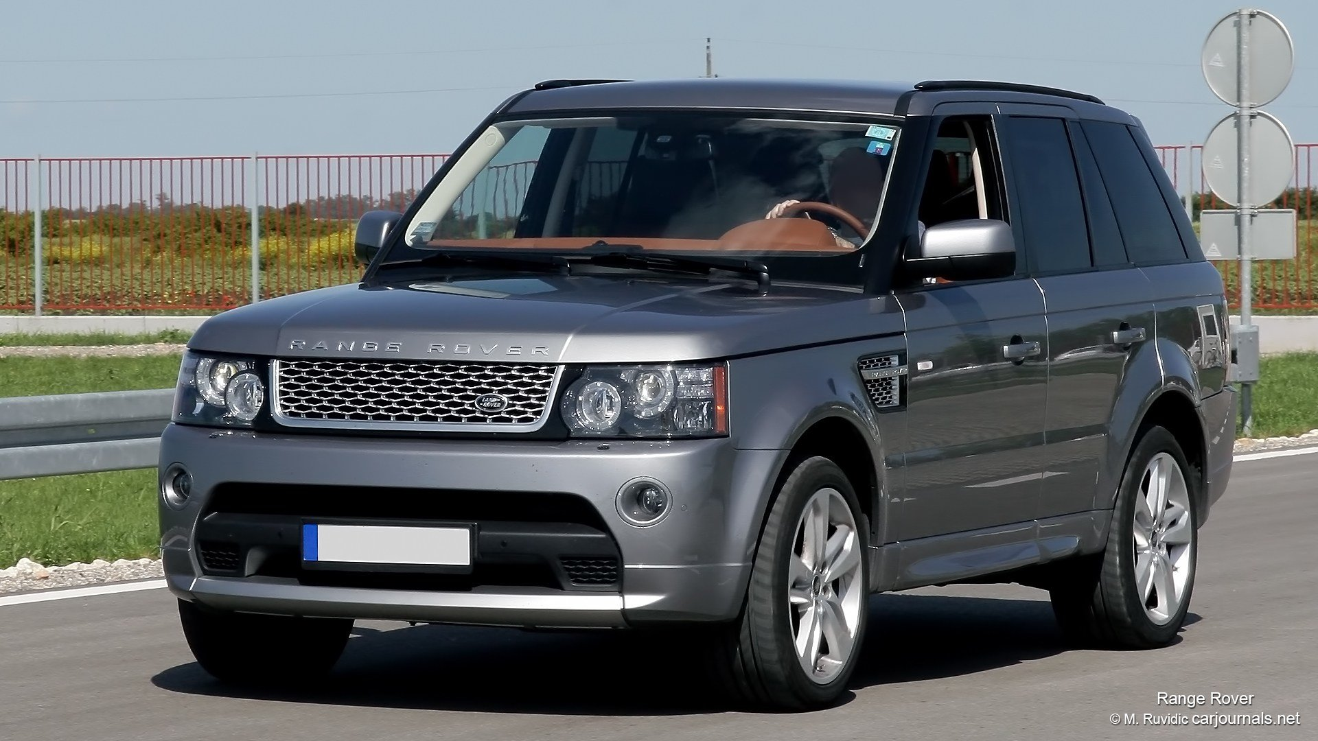 Latest Hd Car Wallpapers – Silver Range Rover – Car Journals Free Download