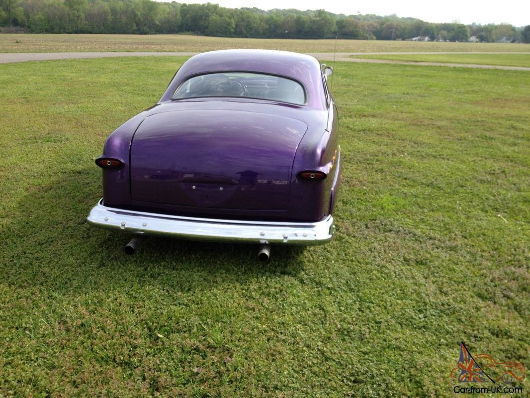 Latest 1951 Club Coupe Custom Chop Top Hot Rod Free Download Original 1024 x 768