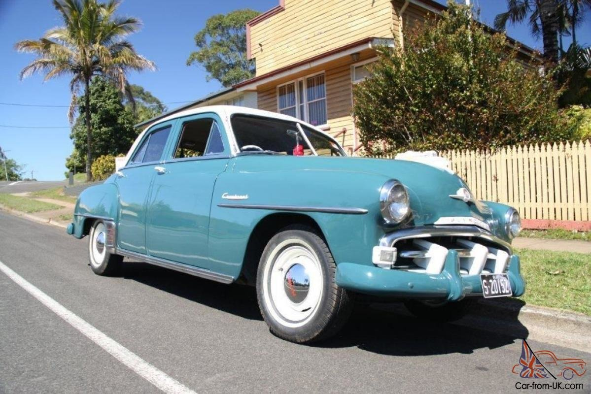Latest 1952 Plymouth Cranbrook In Nambour Qld Free Download Original 1024 x 768