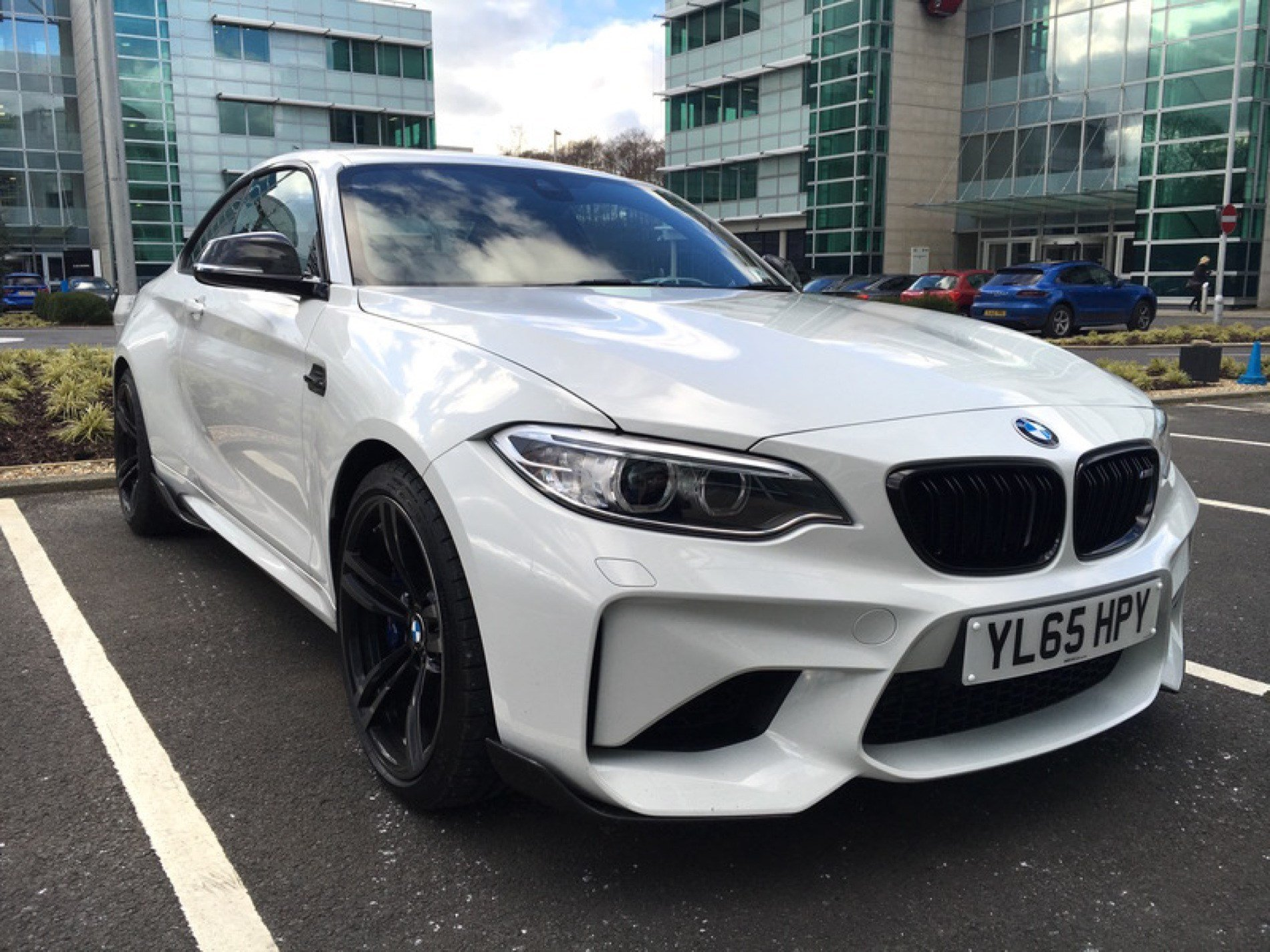 Latest Real Life Photos Bmw M2 In Alpine White With M Free Download