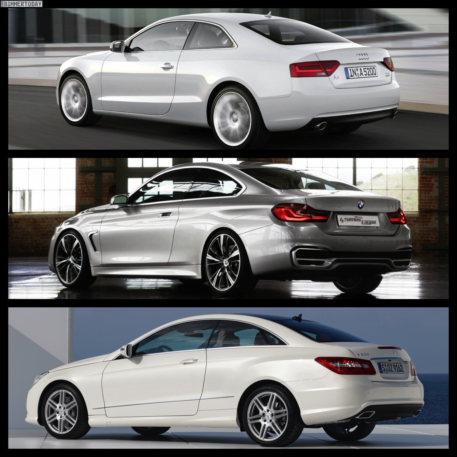 Latest Photo Comparison Bmw 4 Series Coupe Vs Audi A5 Vs Free Download