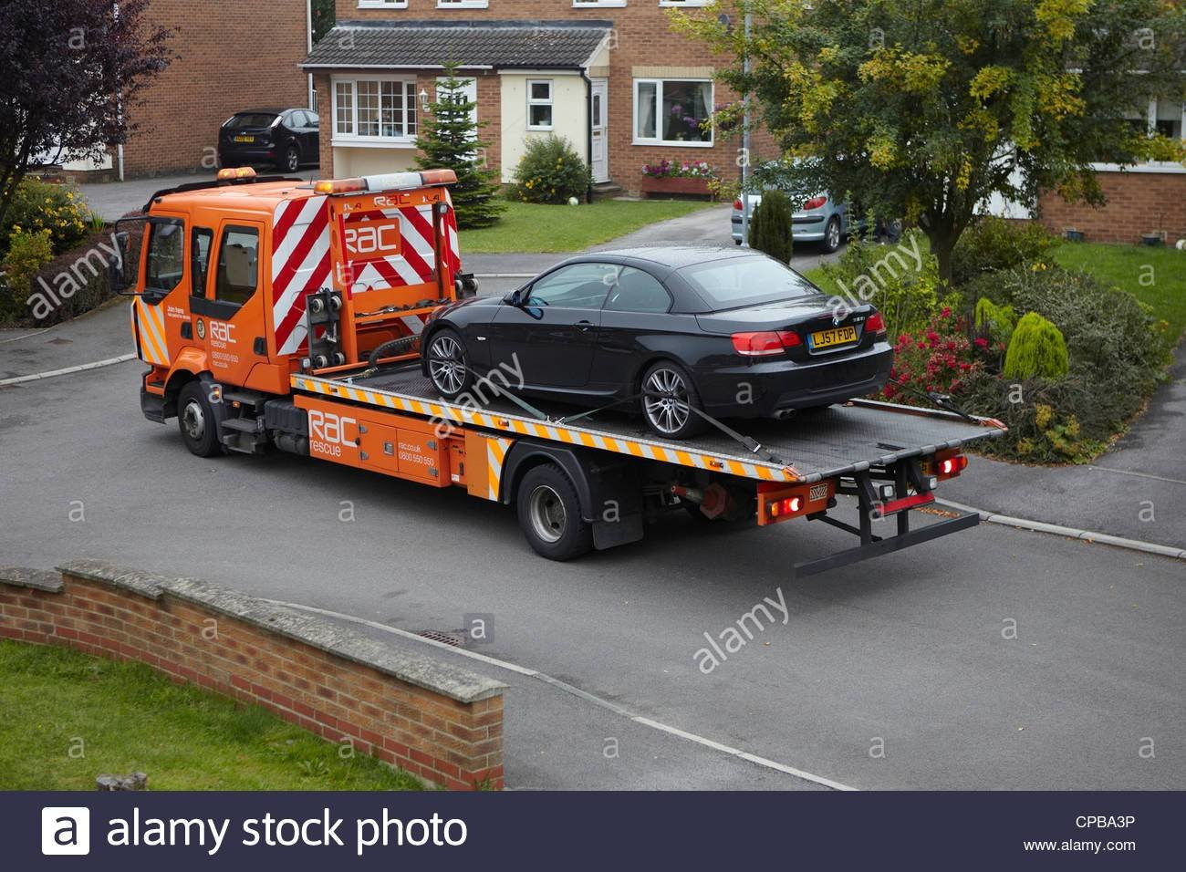 Latest Rac Recovery Vehicle Towing Away A Broken Down Car A Bmw Free Download