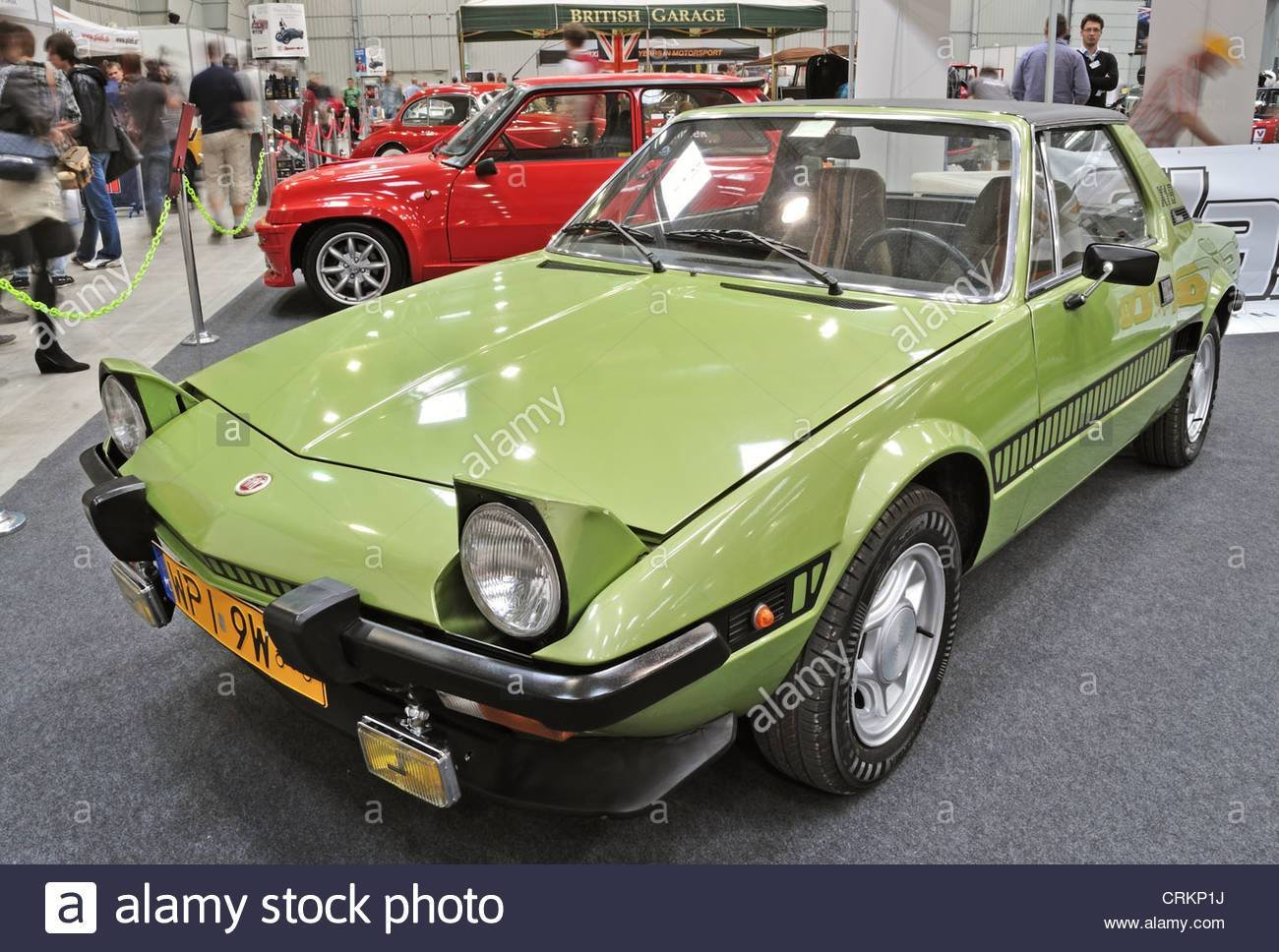 Latest Vintage Sports Car Fiat X1 9 Stock Photo Royalty Free Free Download
