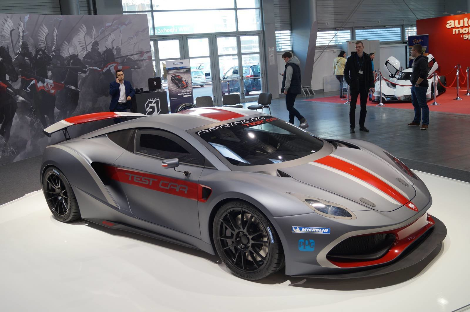 Latest First Polish Supercar Arrinera Hussarya Unveiled In Poznan Free Download