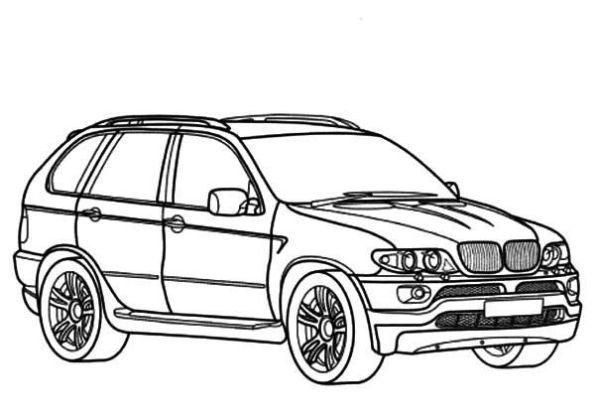 Latest Bmw Car X5 Type Coloring Pages Cars Bmwcase Bmw Car Free Download