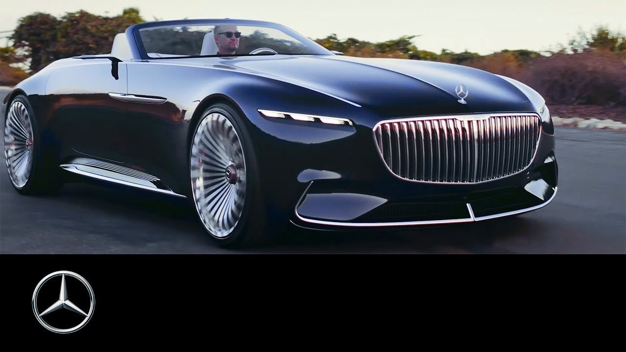 Latest Extraordinary Mercedes Maybach Vision 6 Cabriolet Stuns At Free Download