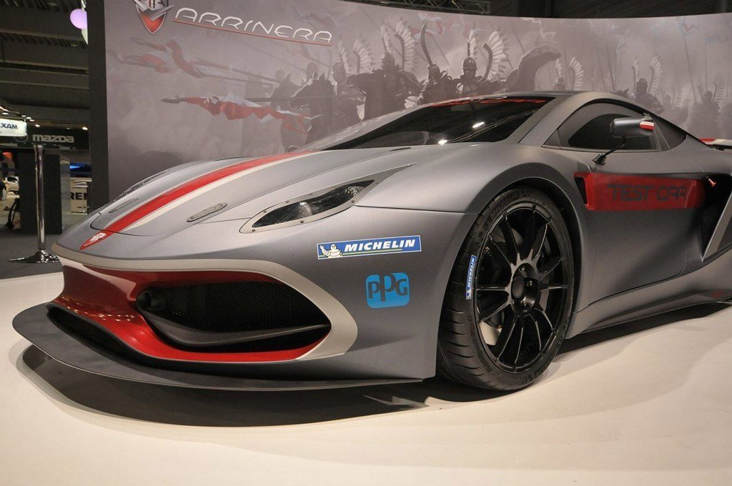 Latest Poland's Arrinera Hussarya Supercar Makes Auto Show Debut Free Download