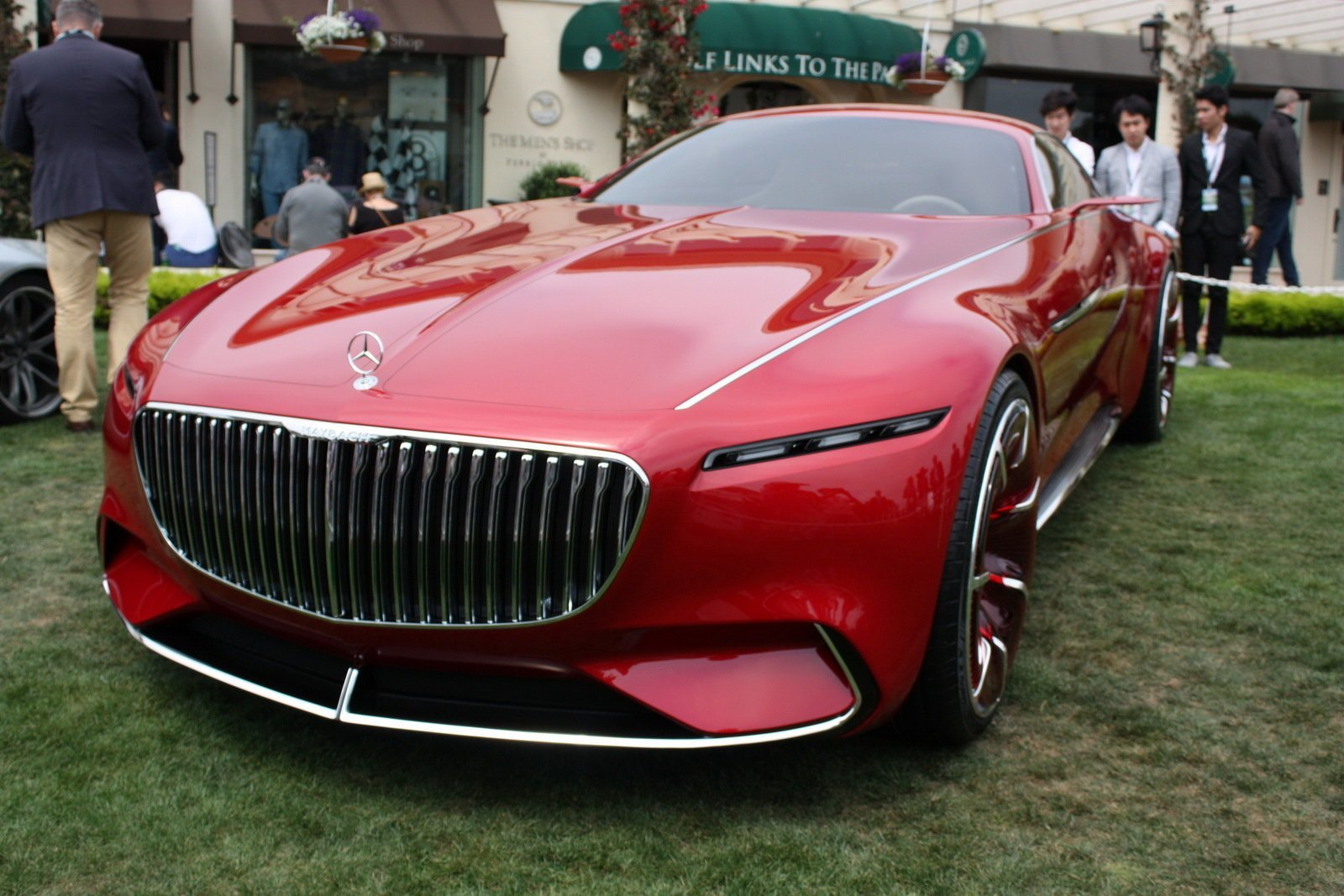 Latest 2016 Mercedes Maybach Vision 6 Picture 685684 Car Free Download