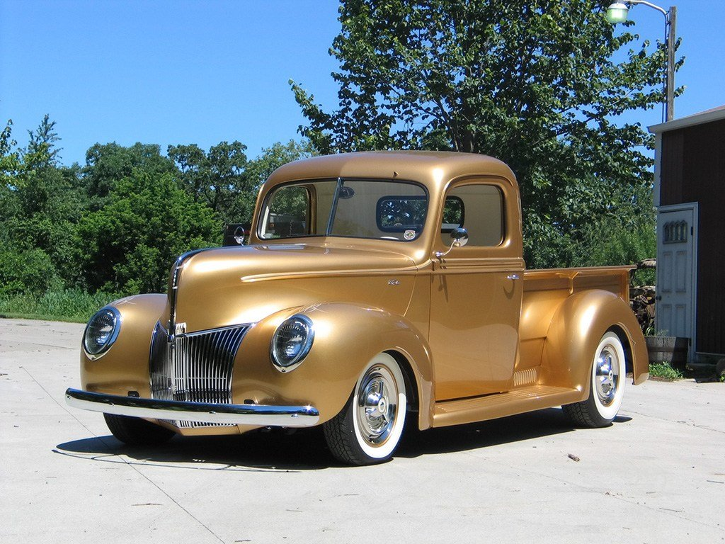 Latest 1940 Ford Pickup By Fastlane Rod Shop News Top Speed Free Download Original 1024 x 768