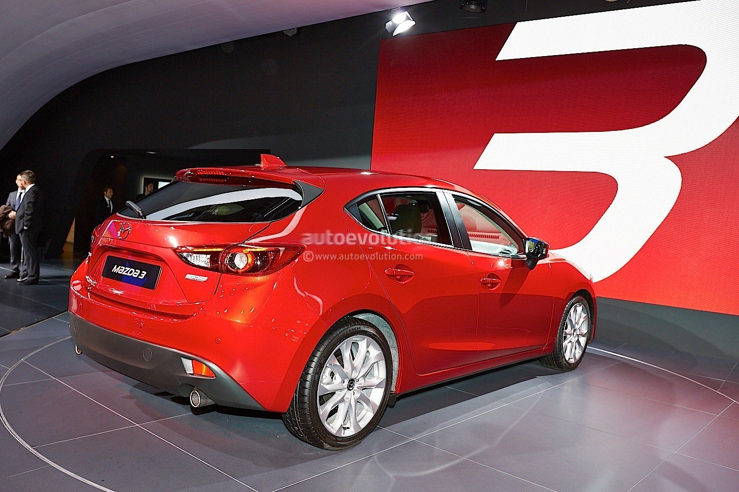Latest Frankfurt 2013 All New Mazda3 Hatch And Sedan Live Free Download