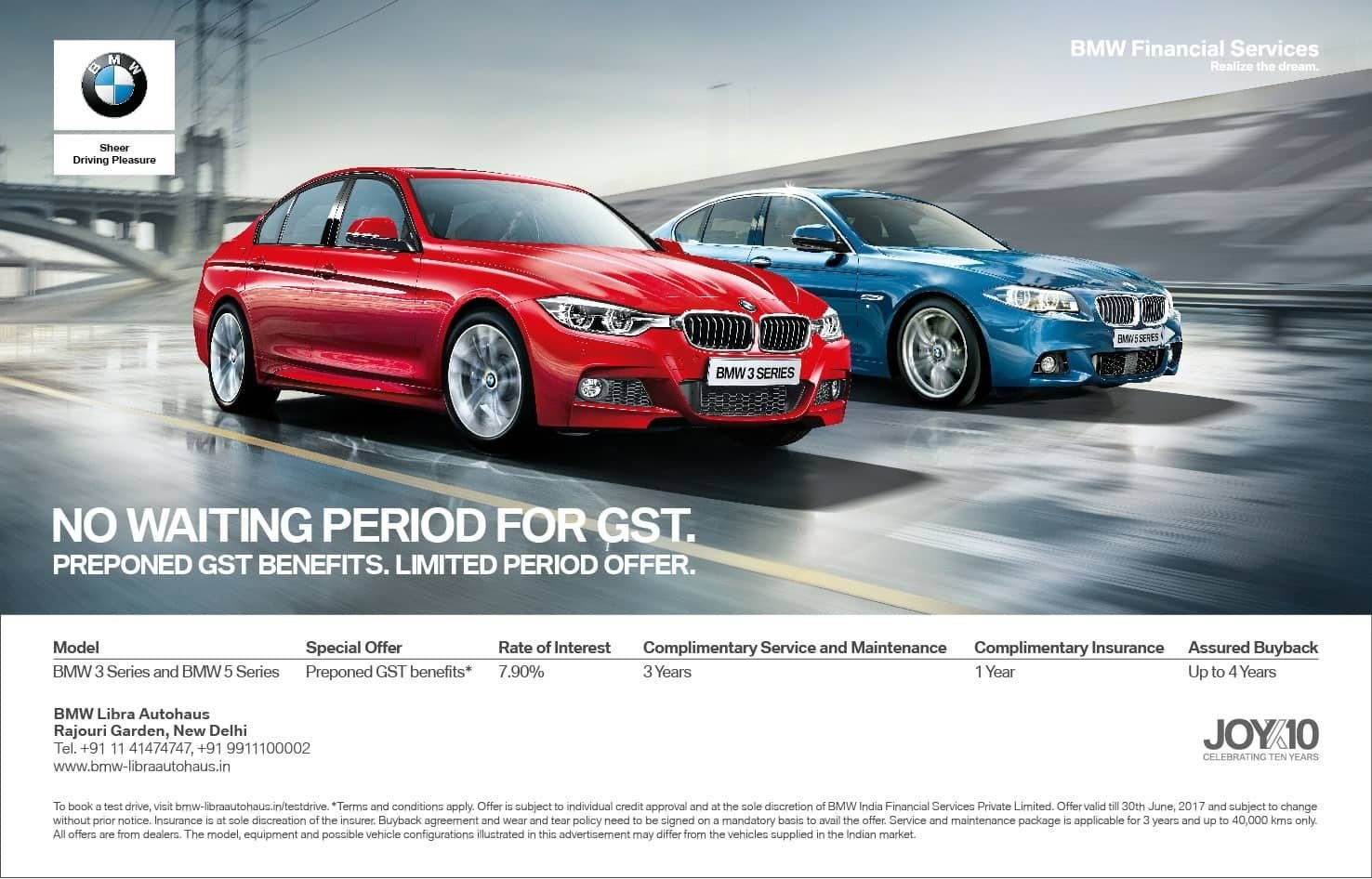 Latest Bmw India Offering Cars With Post Gst Benefits Find New Free Download