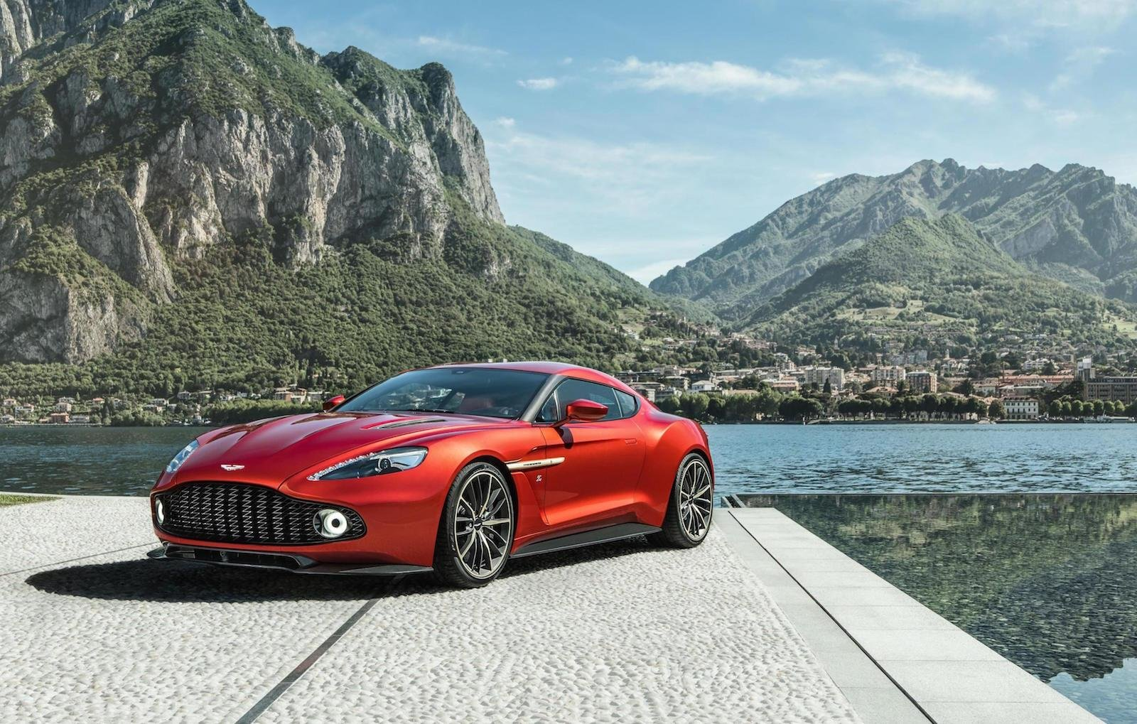Latest Aston Martin Vanquish Zagato Production Car Revealed Free Download
