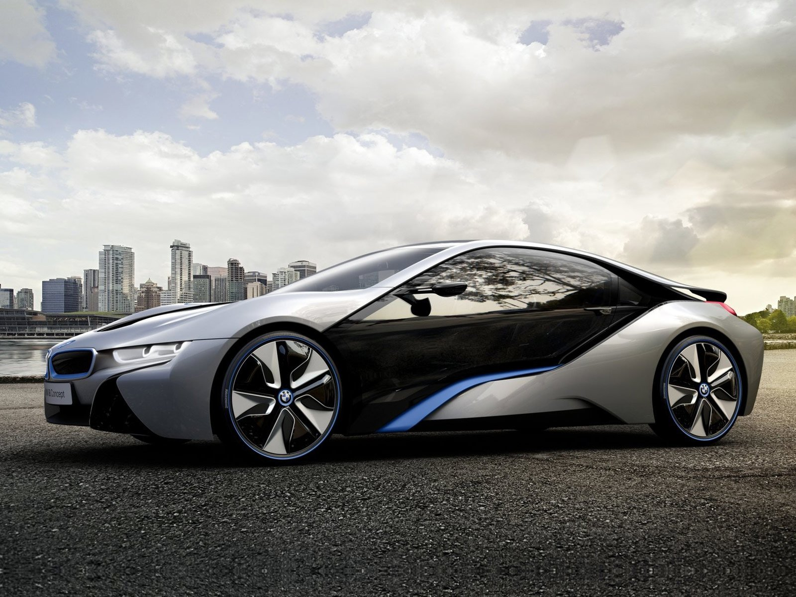 Latest 2011 Bmw I8 Concept Car Desktop Wallpapers Features Free Download