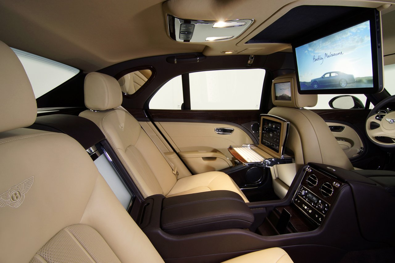 Latest Executive Interior Concept Bentley Mulsanne Gallery Picture Free Download